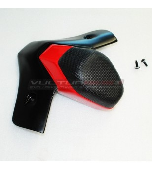 Extended seat pad red black- Ducati Panigale V4 2018-2020 / V2 2020 / Streetfighter V4