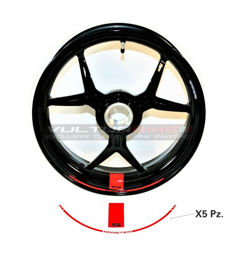 Rims stickers - Ducati Monster
