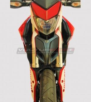 Kit de pegatinas para diseño personalizado Ducati Hypermotard 821