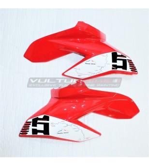 "Side fairings stickers Pikes Peak ""Route"" - Ducati Streetfighter V4 / V4S"