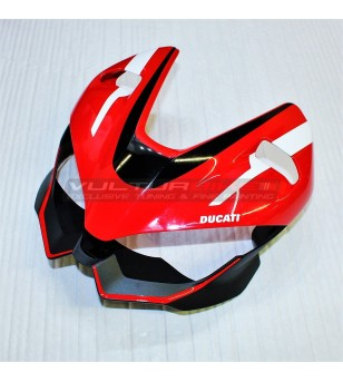 Stickers' kit white custom design - Ducati Streetfighter V4 / V4S