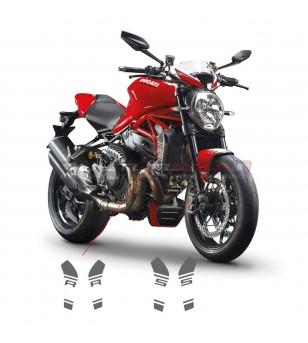 Adesivi per fianchetti radiatore - Ducati Monster 1200S / 1200R
