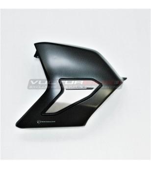Cubierta de basculante de carbono con deslizador de titanio original - Ducati Streetfighter V4 / V4S