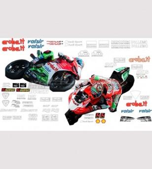 Laguna Seca diseña la edición final del kit de pegatinas para patrocinadores de superbike