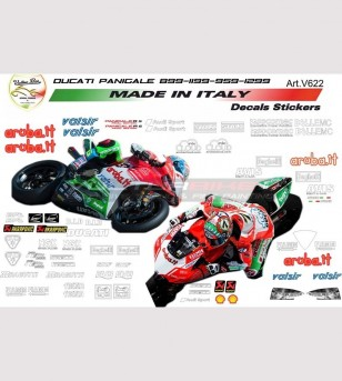 Kit adesivi sponsor superbike edizione Laguna Seca design final edition