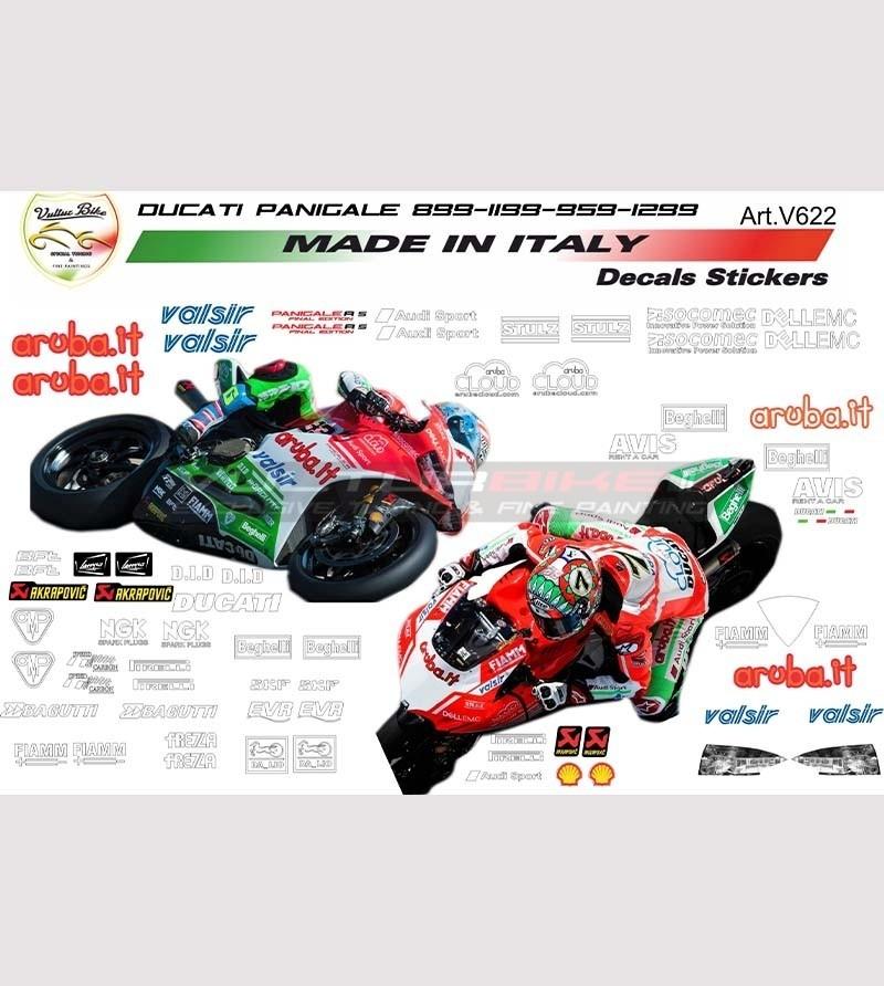 Special stickers' kit Superbike sponsor Laguna Seca design final edition