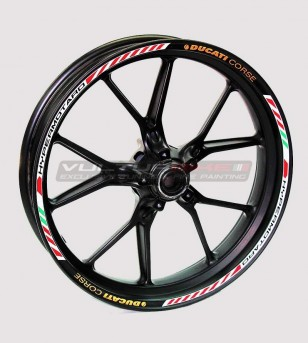 Stickers' kit for Ducati Hypermotard's wheels