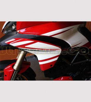 Adesivi Pikes-Peak Tricolore - Ducati Multistrada 1200
