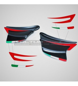 Stickers for aerodynamic flaps - Ducati Panigale V4R / V4 2020