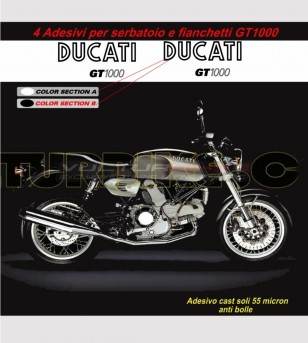 Kit adesivi replica compatibile - Ducati GT 1000