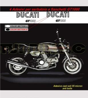 Stickers' kit compatible replica - Ducati GT 1000