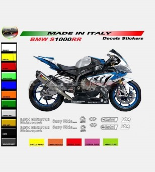Technical sponsor colored stickers - Bmw s1000RR / Hp4