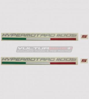 Kit 2 pegatinas para Ducati Hypermotard 796/1100/821/939