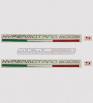Kit 2 stickers for Ducati Hypermotard 796/1100/821/939