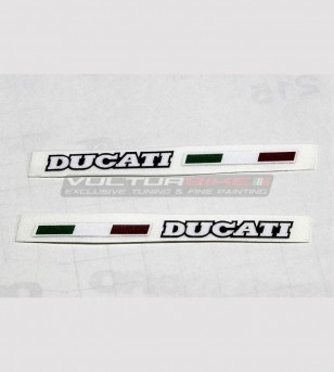 2 Ducati stickers with...