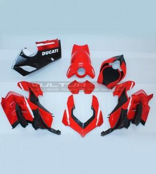 Carene in carbonio Kit restyling Superleggera Rosso Gran Prix - Ducati Panigale V4 / V4R / V4S