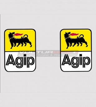 Kit 2 Agip stickers