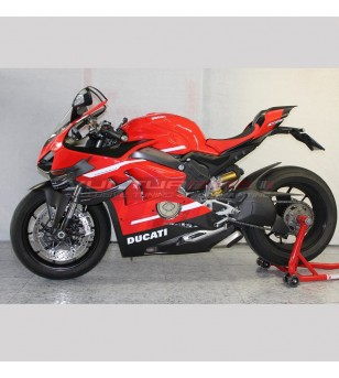 Kit de carenado de carbono restyling Superleggera Rosso Grand Prix - Ducati Panigale V4 / V4R / V4S