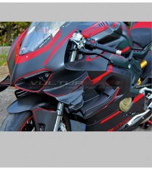 Adesivi per cupolino super design - Ducati Panigale V4 / V4S / V4R 2018-2020