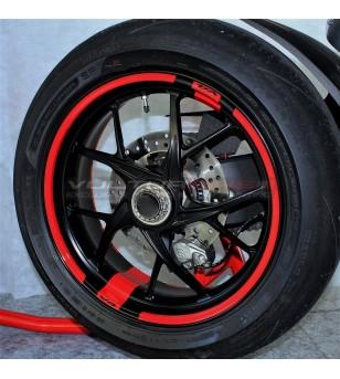 Autocollants pour roues personnelles - Ducati tous les modèles