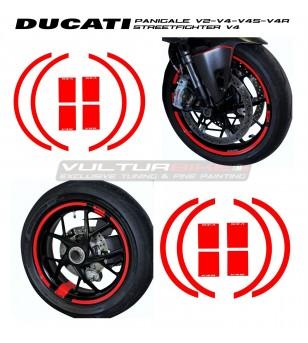 Pegatinas para ruedas personales - Ducati todos los modelos
