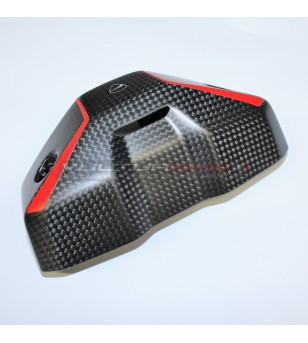 Diseño personalizado original de la cubierta del instrumento de carbono Ducati - Streetfighter V4