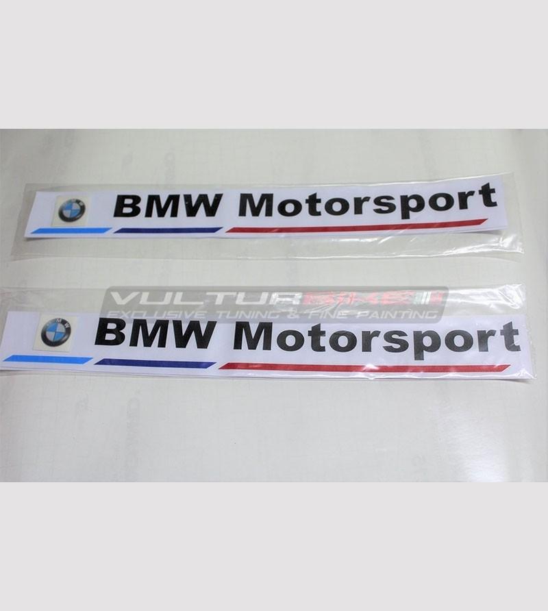 Kit 2 adesivi BMW Motorsport