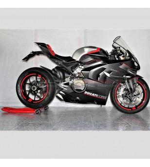 Carene in carbonio versione V4 Superleggera con design SP - Ducati Panigale V4 / V4R / V4S