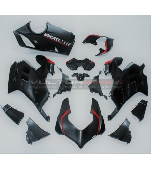 Carene in carbonio versione V4 Superleggera con design SP - Ducati Panigale V4 / V4R / V4S