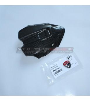 Couvercle d'instrument en carbone avec bouclier d'origine - Ducati Panigale V4 / V4S