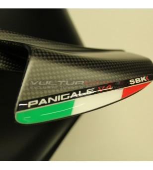 Bandiere italiane resinate per alette - Ducati Panigale V4 / V4S / V4R