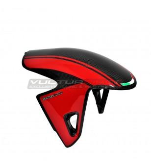 Parafango anteriore in carbonio design personalizzato - Ducati Panigale V4 / V4S / V4R / Streetfighter V4