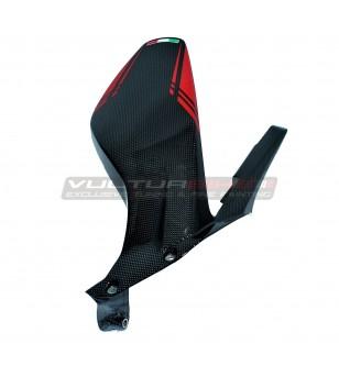 Parafango posteriore in carbonio design personalizzato - Ducati Panigale V4 / V4S / V4R / Streetfighter V4