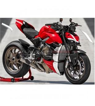 Cúpula de edición de rayas y pegatinas de cola - Ducati Streetfighter V4 / V4S