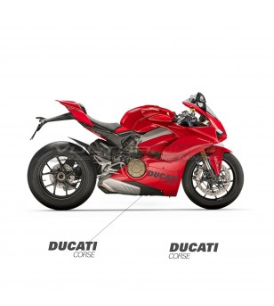 Side panels stickers Ducati...