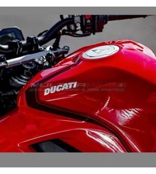 Kit adesivi design Panigale SP neri - Ducati Streetfighter V4 / V4S