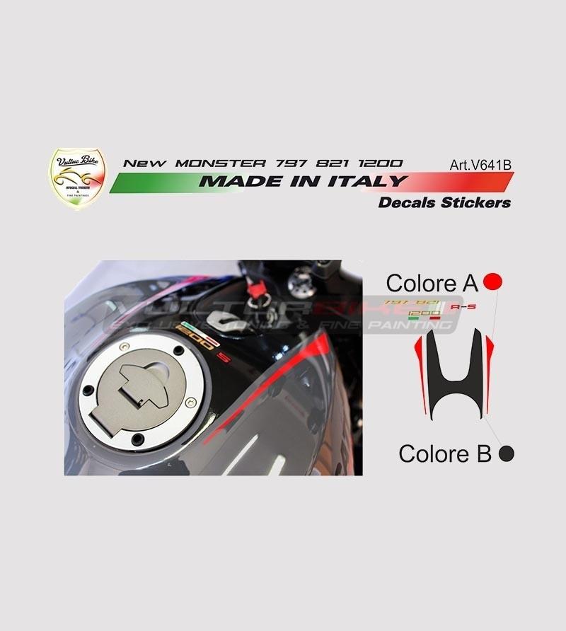 Kit adesivi per serbatoio nuova Ducati Monster 797/821/1200