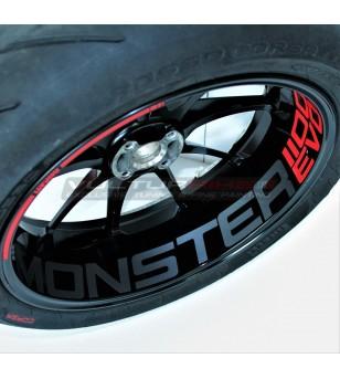 Anpassbare Radaufkleber - Ducati Monster 1100 EVO