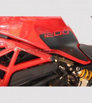 Kit autocollant de réservoir Ducati Monster 797 / 821 / 1200