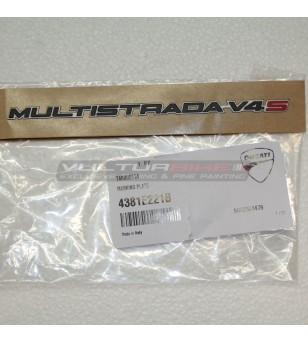 Original Ducati Multistrada V4S-Tag