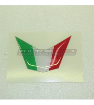 3D Resinated Flag Sticker for Front Fairing - Ducati 848 / 1098 / 1198