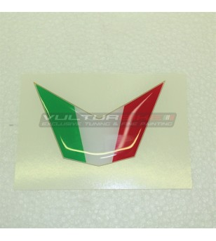 Resinata 3D Flagge Aufkleber für Cupolino - Ducati 848 / 1098 / 1198