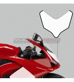 Adesivi per cupolino design personalizzato - Ducati Panigale V4 / V2 2020 - 2021