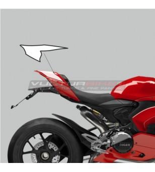 Adesivi per codino design personalizzato - Ducati Panigale V4 / V2 2020 - 2021