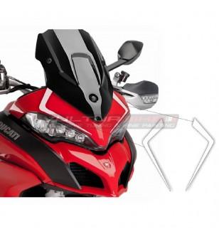Pegatinas de domo personalizado - Ducati Multistrada desde 2015
