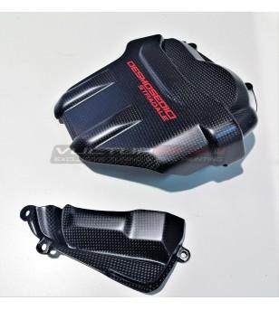 Coperchi testa motore in carbonio personalizzati - Ducati Panigale V4 / V4S / V4R / Streetfighter V4
