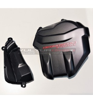 Carbon motor head covers custom design - Ducati Panigale V4 / V4S / V4R / Streetfighter V4