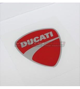 Adesivo Scudetto Ducati ORIGINALE rosso - Ducati tutti i modelli