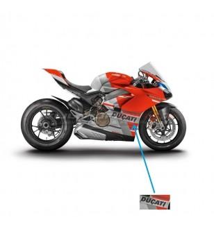 Pegatinas originales de Ducati - Panigale V4S racing