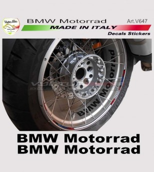 BMW Motorrad Wheel Sticker 2 Kit
